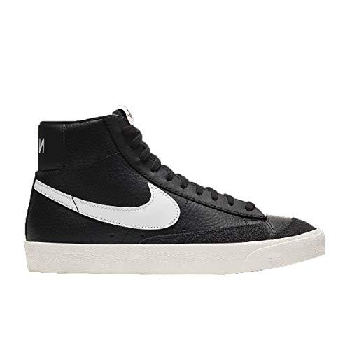 Zapatos Nike Blazer Mid 77 Vintage BQ6806-002, negro (Negro/Vela/Total Naranja), 44.5 EU