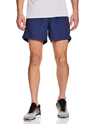 adidas OWN The Run SHO Shorts de Sport Homme, Tech Indigo/Scarlet, FR : XS (Taille Fabricant : XS5)