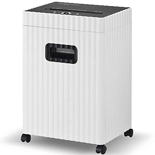 Destructora trituradora de papel, Trituradora de papel automática, trituradora de papel doméstico / comercial, P5 confidencial, 22L de gran capacidad, 40 minutos de trituración continua de papel