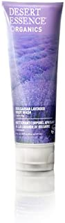 Desert Essence Bulgarian Lavender Body Wash - 8 Fl Ounce - Gentle Cleansing - Calms & Soothes Skin - Soft & Nourished - Vi...