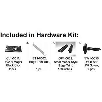Bushwacker PK1-50010 Complete Hardware Kit for 50010-11