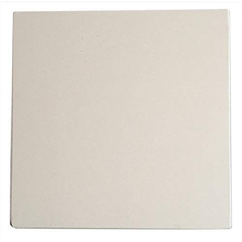 YeBetter - Piedra de pizza para cocinar al horno y barbacoa, 305 x 305 x 10 mm