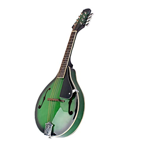 Hellery Mandolina Guitarra Acústica Mandolinas Eléctricas Instrumento Musical Madera con Protector
