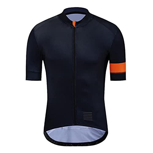 Ciclismo Jersey Estate Manica Corta Uomo Downhill MTB Bicicletta Abbigliamento Ropa ciclismo Quick Dry Bike Shirt, Uomo, Yjz149, M