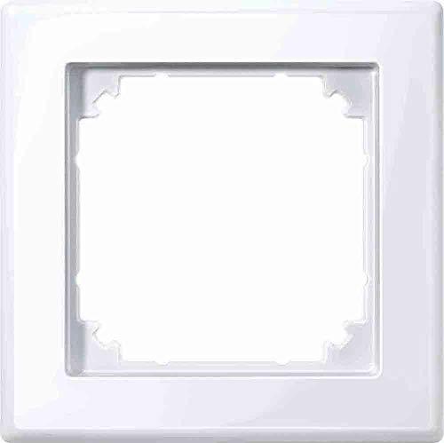 Merten 478125 M-SMART-Rahmen, 1fach, aktivweiß glänzend