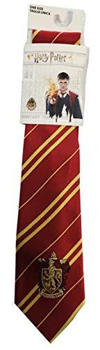Sabor Krawatte Erwachsene Gryffindor Haus mit Original Emblem 140cm Harry Potter Gryffindor Necktie