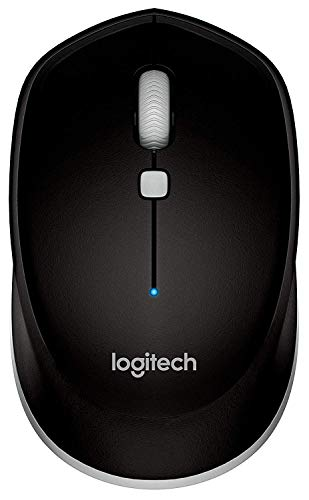 Logitech M535 Bluetooth Mouse – Compact Wireless Mouse with 10 Month Battery Life works with any Bluetooth Enabled Computer, Laptop or Tablet running Windows, Mac OS, Chrome or Android, Gray