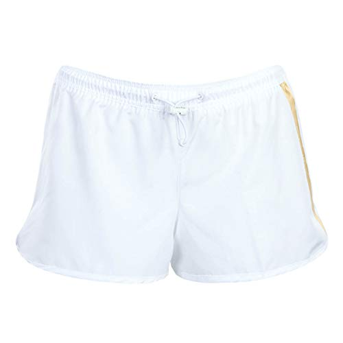 Calvin Klein Short Pantalones Cortos, Pvh Blanco, XL para Mujer