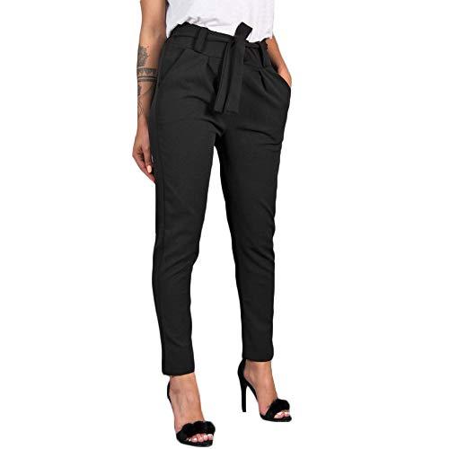 Honestyi Pantalon Femme à Imprimé Camouflage Jogging Casual Trousers Sports Taille Haute Jeans Cargo Pantalon Militaire de Combat Couleur Unie Pants Slim Droite Pantalons