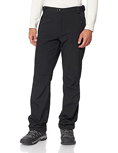 CMP Pantaloni Comfort Fit In Softshell Pantaloni, Uomo, Nero, 2XL
