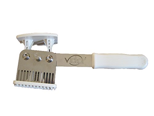 Victor ProChef Deluxe 56 Blade Multi-function Meat Tenderizer and Mallet