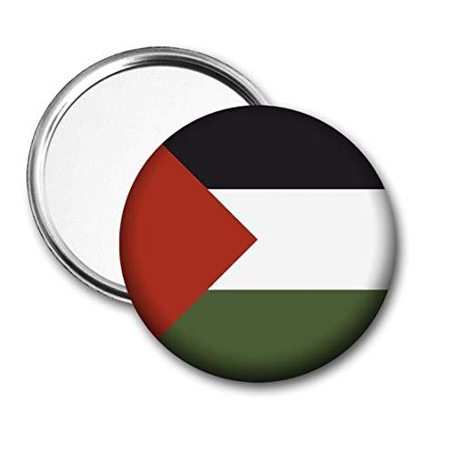 Palestijnse vlag Pocket Spiegel voor Handtas - Handtas - Gift - Verjaardag - Kerstmis - Stocking Filler - Secret Santa