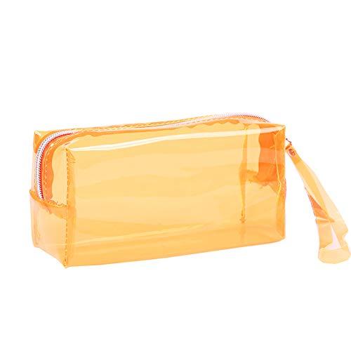 HeiHy - Estuche transparente para lápices de gran capacidad para adolescentes y niños