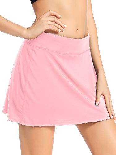 Jessie Kidden Women's Athletic Stretch Skort Tennis Skirts with Shorts and...