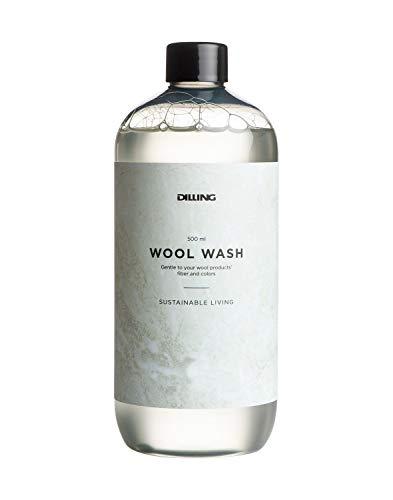 DILLING Waschmittel für Merino Unterwäsche - umweltfreundliches Wollwaschmittel für Ihre Merinoprodukte. Für Hand- und Maschinenwäsche geeignet. 500ml