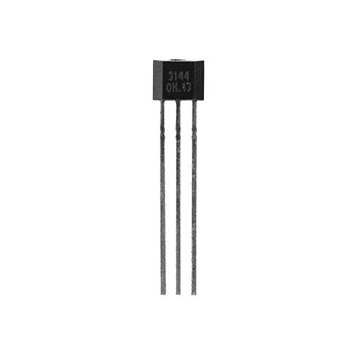 Yosoo Health Gear Transistor de Sensor de Efecto Hall Sensible de 3 terminales de 10 Piezas para A3144 3144E OH3144E