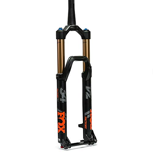 FOX Racing Shox 34 Float 27,5 FIT4 Factory Boost Fourche Noir Mat 150 mm 44 mm vélo Adulte Unisexe