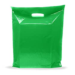 """in budget affordable Green vinyl bag – 100 pieces 9 """"x 12"""" 1.5 mil thick 