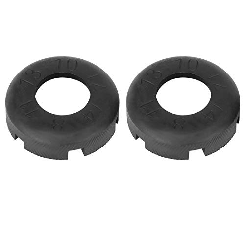 X AUTOHAUX - Llave de rueda para bicicleta (2 unidades)
