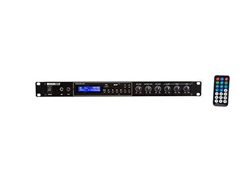 Velleman INTEGRA 200 PA versterker met MP3-speler, 2 x 100 W
