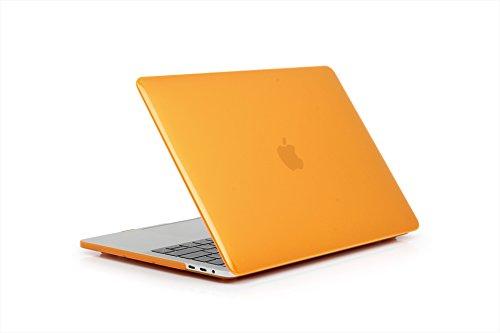 TaStone Capa rígida de plástico para MacBook 12 polegadas com tela de retina/MacBook Air 13 polegadas, Laranja, MacBook Air 13 Inch
