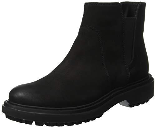 Geox Damen D ASHEELY E Chelsea Boots, Schwarz (Black C9999), 40 EU
