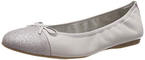 Tamaris Damen 1-1-22129-22 227 Geschlossene Ballerinas, Grau (CLOUD 227), 37 EU