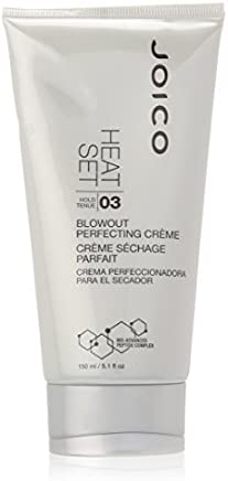 Joico Heat Set Blow Dry Perfecting Creme, 5.1 Fluid Ounce (Pack of 3)