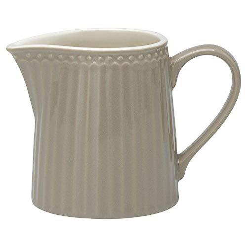 Porzellan-Milchkännchen, Alice Warm Grey von GREENGATE