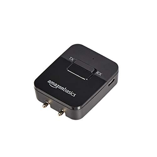 AmazonBasics - 2-in-1 Bluetooth Transmitter/Receiver Adapter
