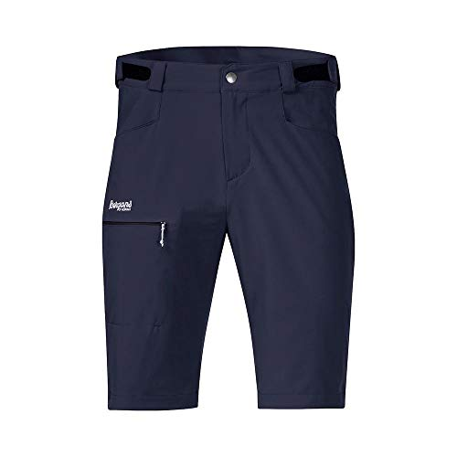 Bergans Slingsby LT Softshell M Shorts Blau, Herren Hose, Größe L - Farbe Dark Navy - White