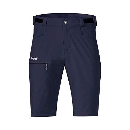 Bergans Herren Slingsby LT Softshell Shorts, Dark Navy-White, XXL