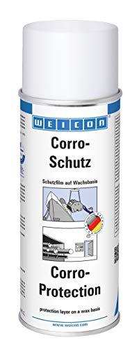 WEICON 11550400 Corro-Schutz 400ml Korrosionsschutz Spray für Metallteile TÜV-geprüft, milchig
