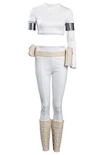 Lixinya Disfraz de Padme Amidala de Wars, disfraz para Halloween, carnaval, cosplay, para mujer, XXXL