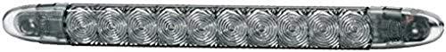 HELLA 2DA 343 106-221 Zusatzbremsleuchte - LED - 12V - Lichtscheibenfarbe: rauchgrau - LED-Lichtfarbe: rot - Anbau/geklebt - Kabel: 3000mm - Einbauort: hinten