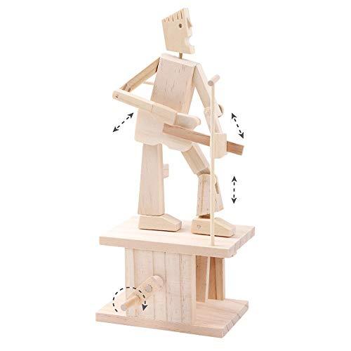 Yifuty Dreidimensionale Montage und Bauwerkzeuge Gitarrist Musik Serie Kinder DIY Spielzeug über 6 Jahre alt Modell 220 * 160 * 50mm