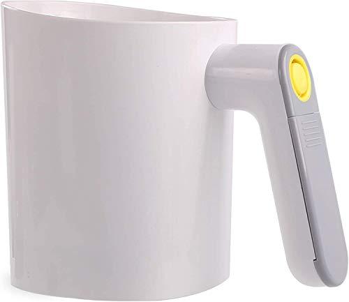Batteriebetriebenes elektrisches Mehlsieb, feines Edelstahlgeflecht, 4 Tassen / 1 Liter Fassungsvermögen