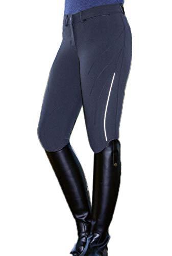 huateng Pantalones de Ciclismo elásticos Ajustados Jodhpurs para Mujer Pantalones de Tiro con Arco