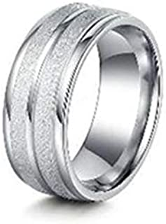Men's Stainless Steel Vintage Pure Ring