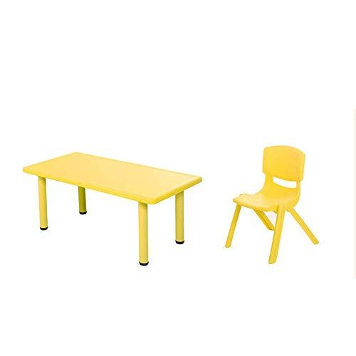 Office Life Juego de mesa y sillas para niños Juego de mesa y sillas para niños Juego de muebles para mesa de actividades Juego de juego de mesa para niños Incluye 2 sillas (Color: Azul, Tamaño: 12 ✅