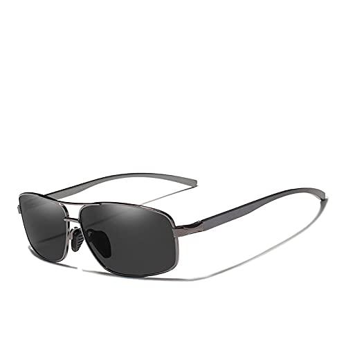 PADQ Gafas de Sol Hombre Mujer Lente UV400 Clásico Estilo Retro Gafas de Sol Original