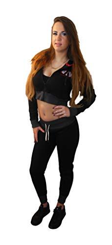 Ali's Fightgear trainingspak vechtsport dames zwart maat M
