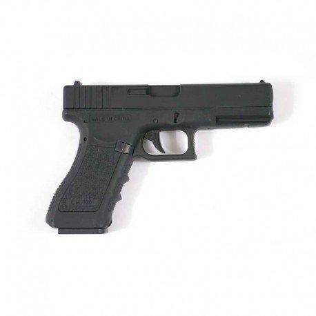Cyma Pistola Eléctrica G18 para Airsoft,/Automático, Cm030 (0,5 Julios), Culata de Metal,...