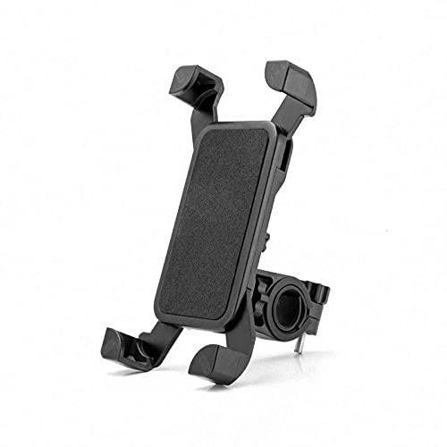Nicejoy Porta movil Bicicleta, Soporte movil Bici, Soporte de teléfono de 360 Grados Ajustable a la Bicicleta para Montar en el Soporte GPS