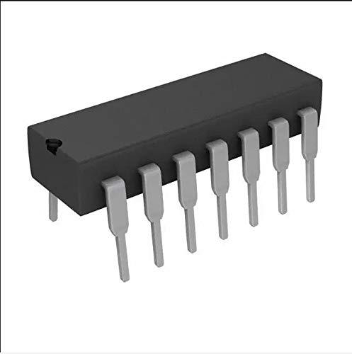 20 TEILE/LOS 74HC14 74HC14N SN74HC14 SN74HC14 DIP IC DIP-14 Sechs Schmitt Trigger Wechselrichter Neu