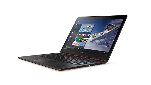 Lenovo Yoga 900 33,78cm (13,3 Zoll QHD+) Convertible Laptop (Intel Core i7-6500U, 3,1GHz, 8GB RAM, 512GB SSD, Intel HD Grafik 520, Touchsceen, Windows 10 Home) orange