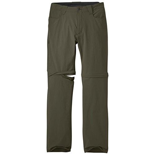 Outdoor Research Ferrosi - Pantalones Convertibles para Hombre, Hombre, 264422, marrón grisáceo, 36
