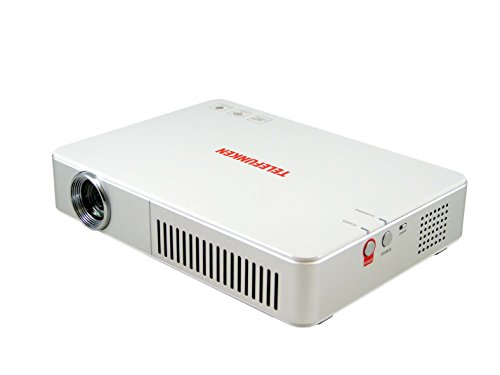 Telefunken DLP 700 WiFi Midi-LED Projektor (VGA, 1280x 800 Pixel, 700 ANSI Lumen, Video - Sehr gut)