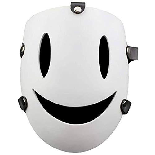 2021 Nueva Máscara De Francotirador De Invasión De Gran Altura - Máscara De Sonrisa Blanca De Halloween, Máscara De Francotirador, Máscara De Yuka Makoto Anime Para Accesorios De Halloween