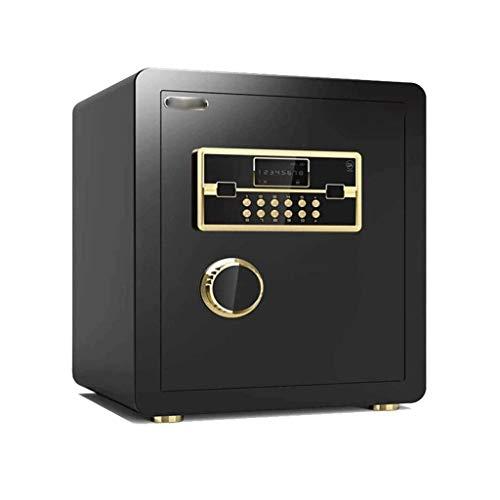 GYDSSH Caja Fuerte con Caja Fuerte for Cabina de Seguridad, Huellas Dactilares contraseña Pequeño Completamente de Acero Ocultos Antirrobo Sola Puerta Caja de Seguridad